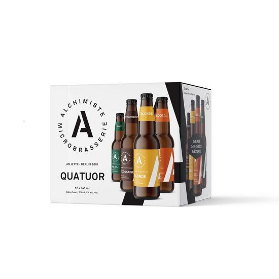 Image sur Alchimiste - Quatuor / caisse de 12 bouteilles mixtes ***DE RETOUR BIENTOT***