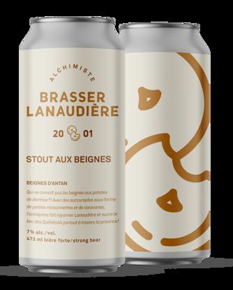 Image de Brasser Lanaudière - Stout aux beignes